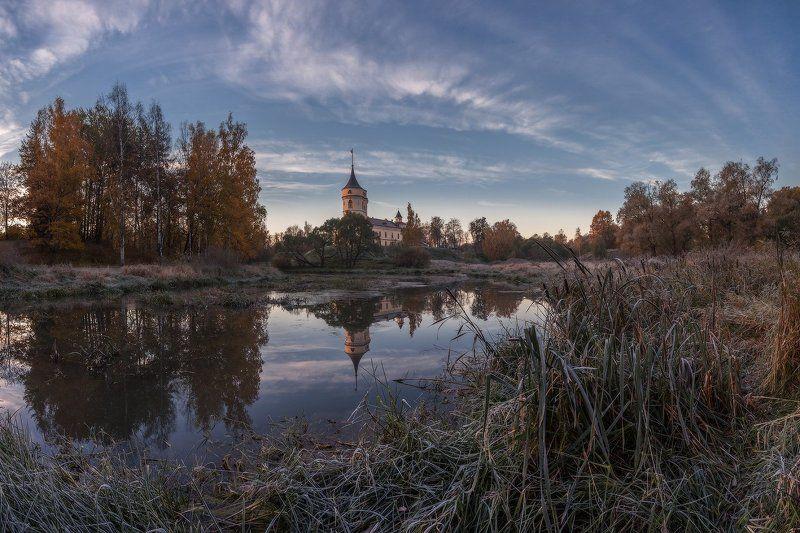 павловск, мариенталь, парк, осень, рассвет, осень, россия, славянка, бип пока не встало солнце...photo preview