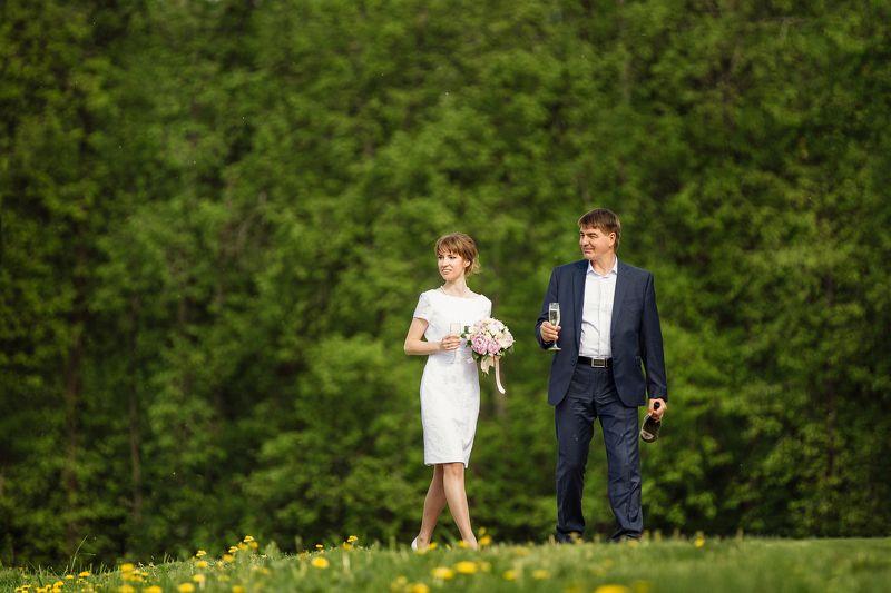 свадебное фото, фотограф Максим Дуюнов, свадебный фотограф Свадебная прогулкаphoto preview