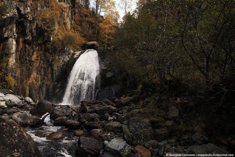 алтай, водопад, река Водопад Корбуphoto preview