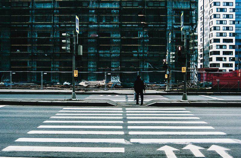 Город, Дорога, Линии, Санкт-петербург, Улица, Человек ***photo preview