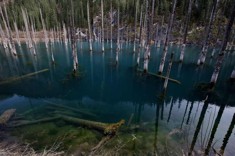 Поездка на озеро Каиндыphoto preview