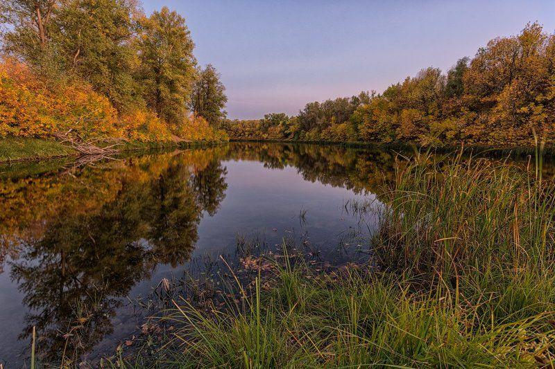 осень, ерик, вечер Осенний Булгаковphoto preview