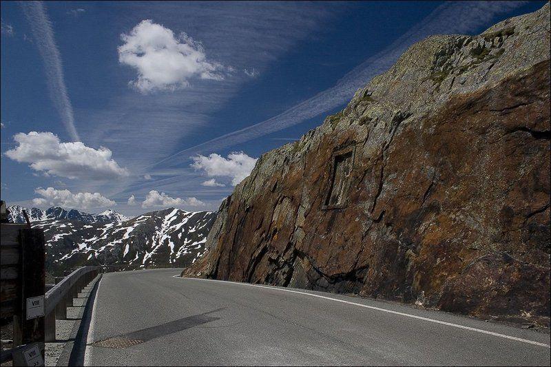 Альпы. Перевал Сан-Бернарphoto preview