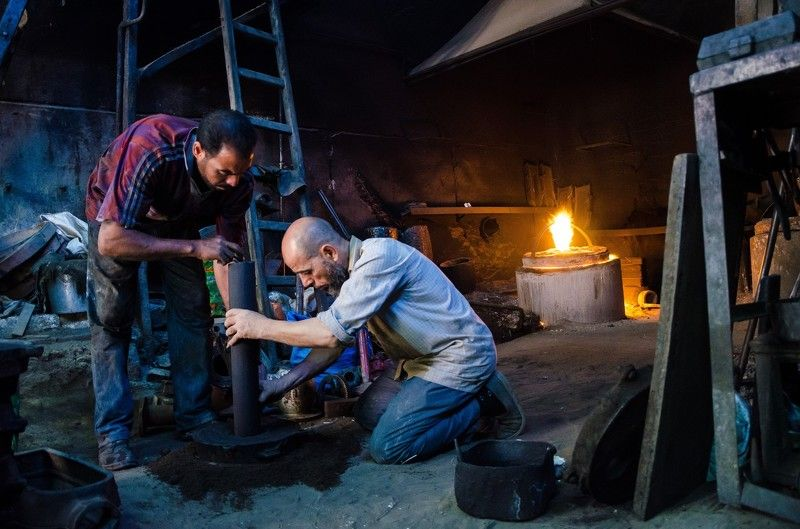 Foundry Workers - Project number 1photo preview