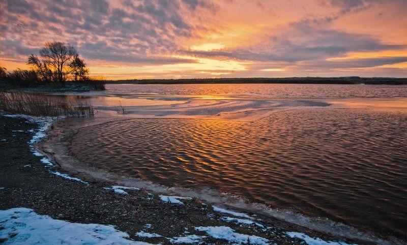 Лед, Озеро, Рассвет Перед рассветом_3photo preview