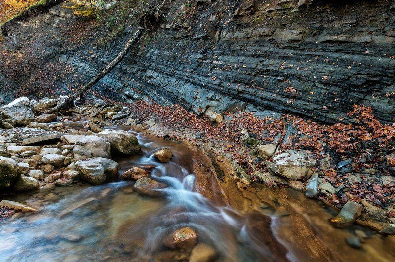 река, пейзаж, осень, камни, скала, природа, вода, Крым, river, landscape, stones, Crimea река Коккозкаphoto preview