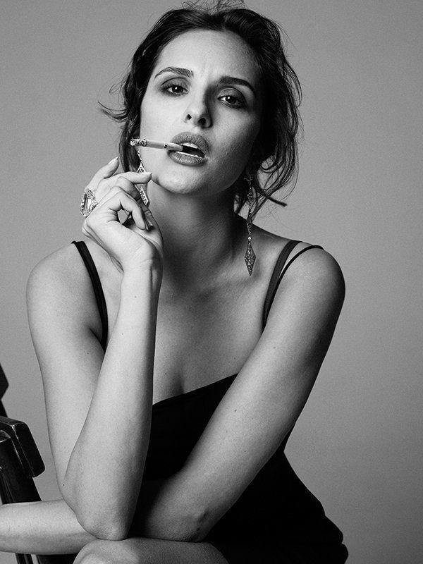 актриса, студия, чб, черно-белое, портрет Софияphoto preview