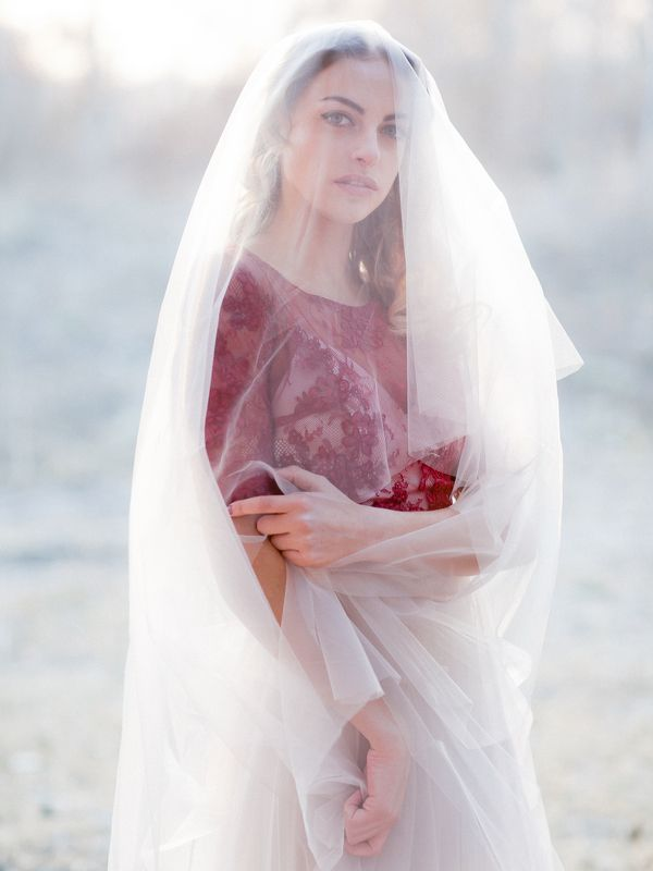 Bride wedding sunset portrait dress marsala Nastyaphoto preview