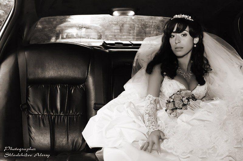 невеста, лимузин, штирлиц, фотограф складчиков алексей Невеста для Штирлицаphoto preview