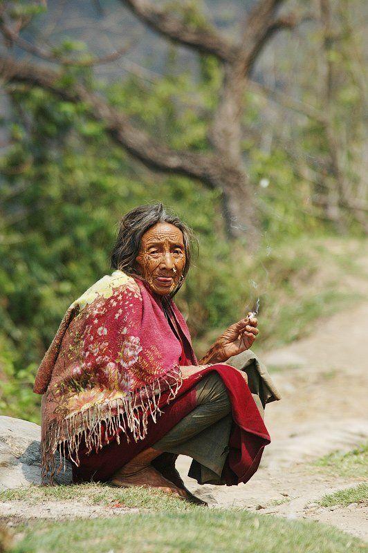 вред, курить, женщина, сигарета, азия Smoking womanphoto preview