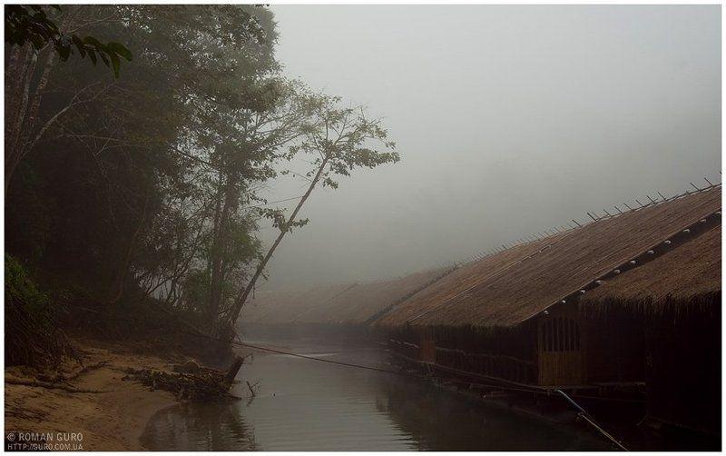тайланд, река, квай, туман Утро. Туман. Деревня Монов (Тайланд)photo preview
