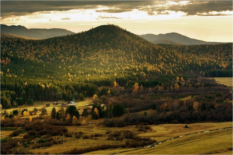 Осенний вечер на кордоне Макароваphoto preview