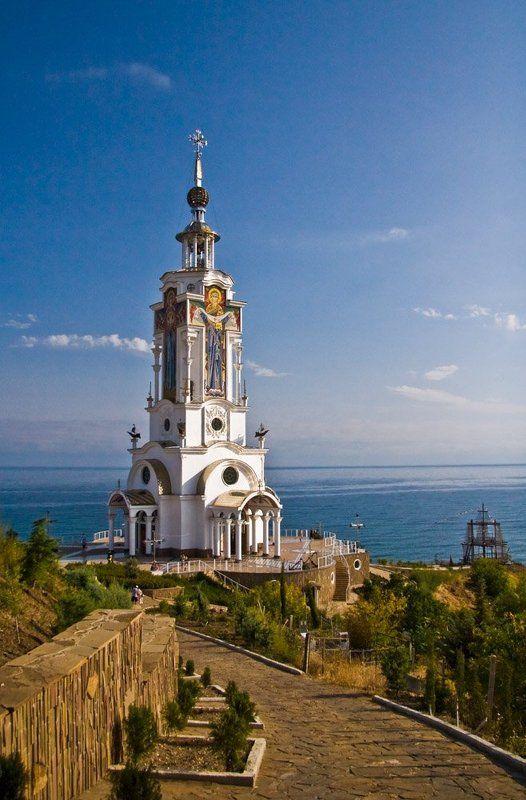 церковь, крым Крымphoto preview