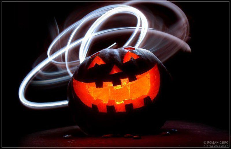 halloween, световая, кисть С праздничком) Хэллоуин!photo preview