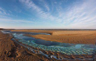 Цвета и фактуры Рыбинского моря