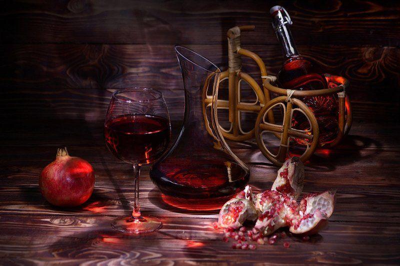 Про гранатовое вино и ночные тени...photo preview