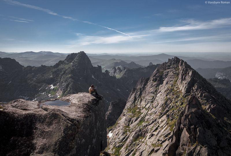 Горы, Ергаки, Красноярский край, Небо В погоне за кадромphoto preview