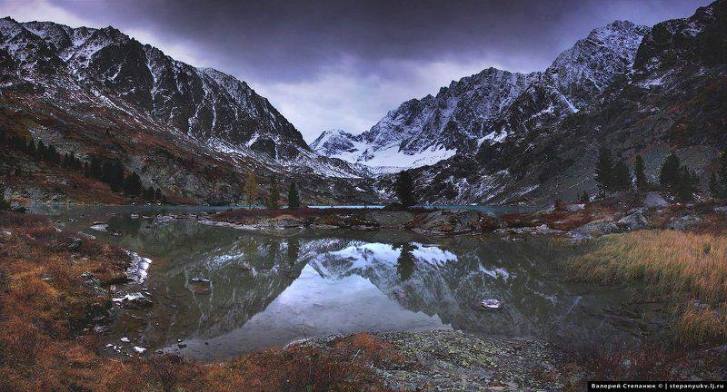 алтай, горы, природа,  Озеро Куйгукphoto preview
