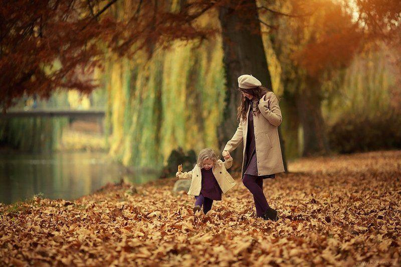 дети, фотография, природа, осень, романтика, женщина, ребёнок Осеньphoto preview