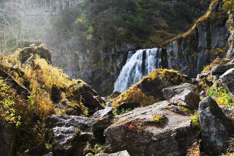 камчатка, водопад Водопад \
