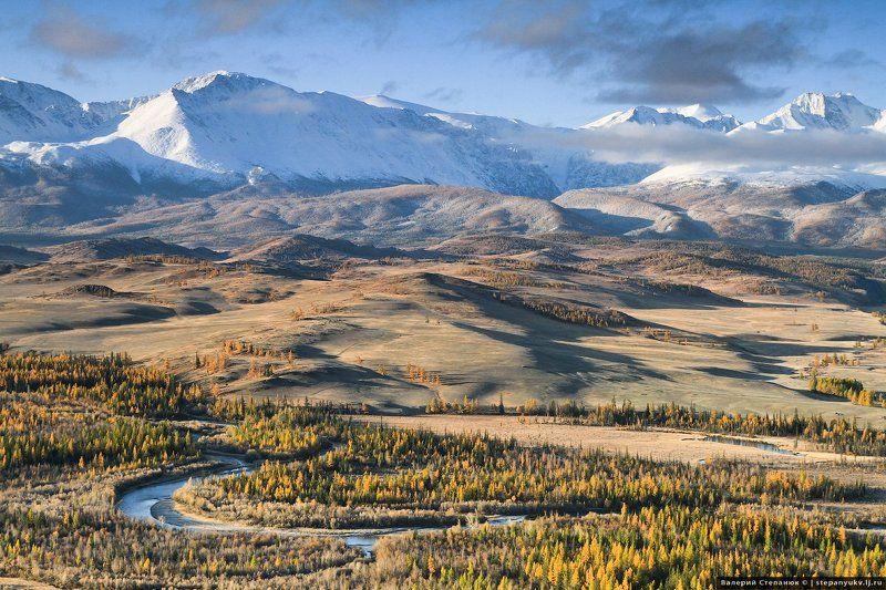 Алтай. горы, природа, Курай Курайский рассветphoto preview