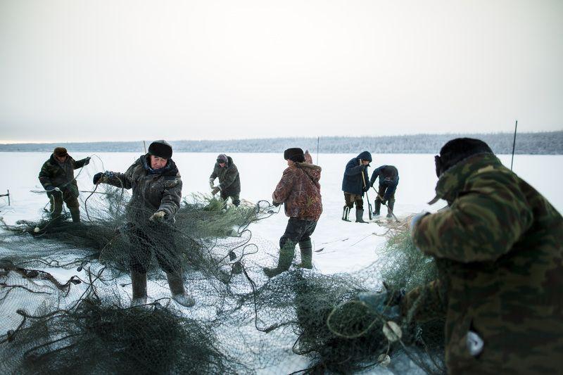 РЫБАЛКА  мунха. традиционная рыбалка якутов photo preview