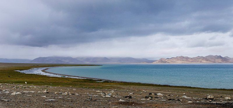 Горы, Каракуль, Озеро, Памир, Таджикистан Озеро Каракуль (Памир)photo preview