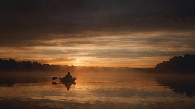 Canon, Canon 70d, Fisherman, Lake, Landscape, Landscapes, Nature, River, Sigma Тот, кто с самого утра.photo preview