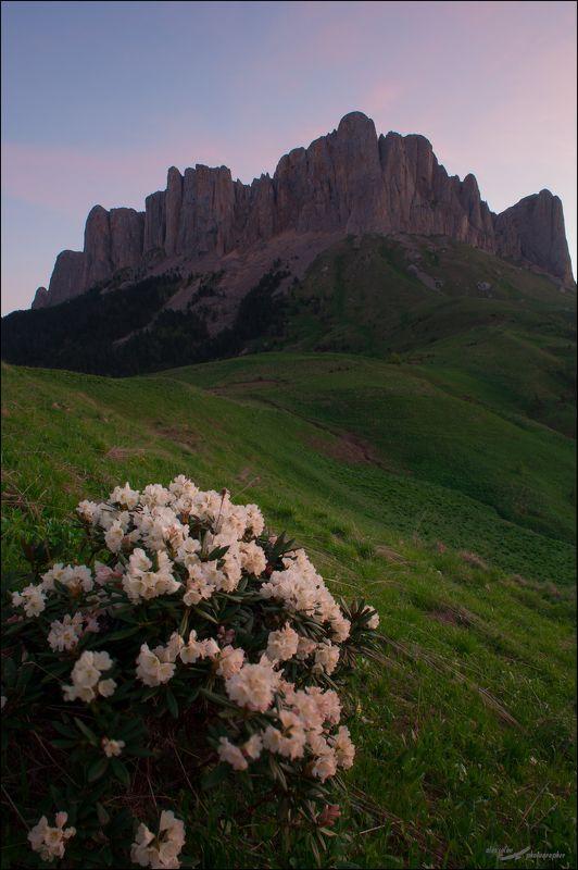 Тхач, Адыгея, горы, закат Большой Тхачphoto preview