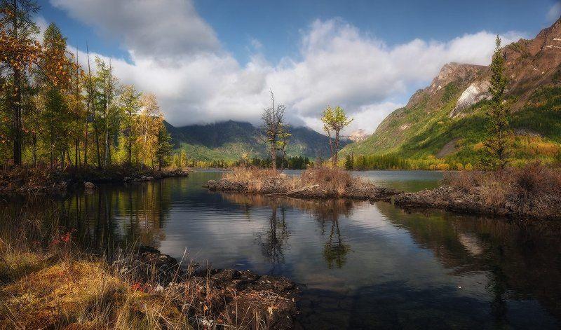 Погожий денёк на озере Олон-Нур…photo preview