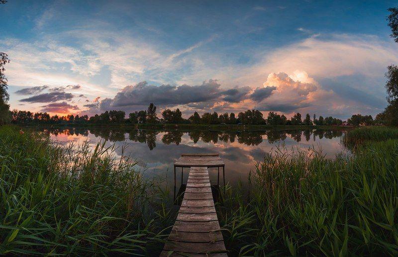 canon, canon70d, kiev, ukraine, borispyl, landscape, landscapes, nature, sunset, природа, пейзаж, закат, Украина, Киев Мост красоты photo preview
