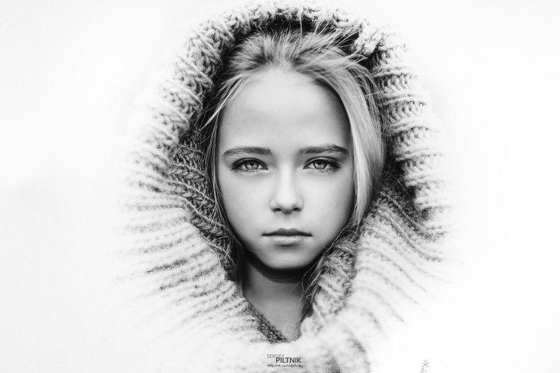 пилтник piltnik girl prety, miracle, дети, девочка, малыши, малышка, vogue, magazine, best, popular, autumn, bw, moda, model, fashion Взглядphoto preview