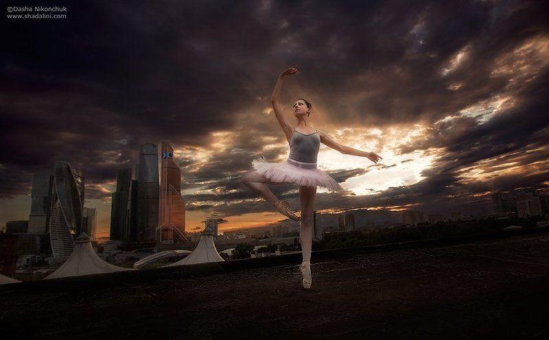 Балет в большом городеphoto preview