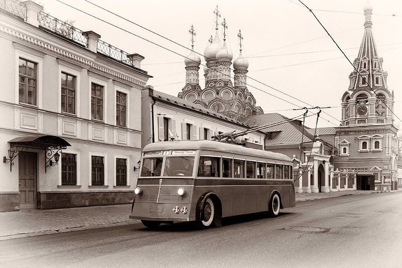 Мосгортрагс, Москва, Троллейбус, ЯТБ-1 Москва 1930хphoto preview