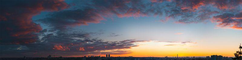Екатеринбург, Екб, Закат, Природа, Уктус, Ярко родной цветной екатеринбургphoto preview