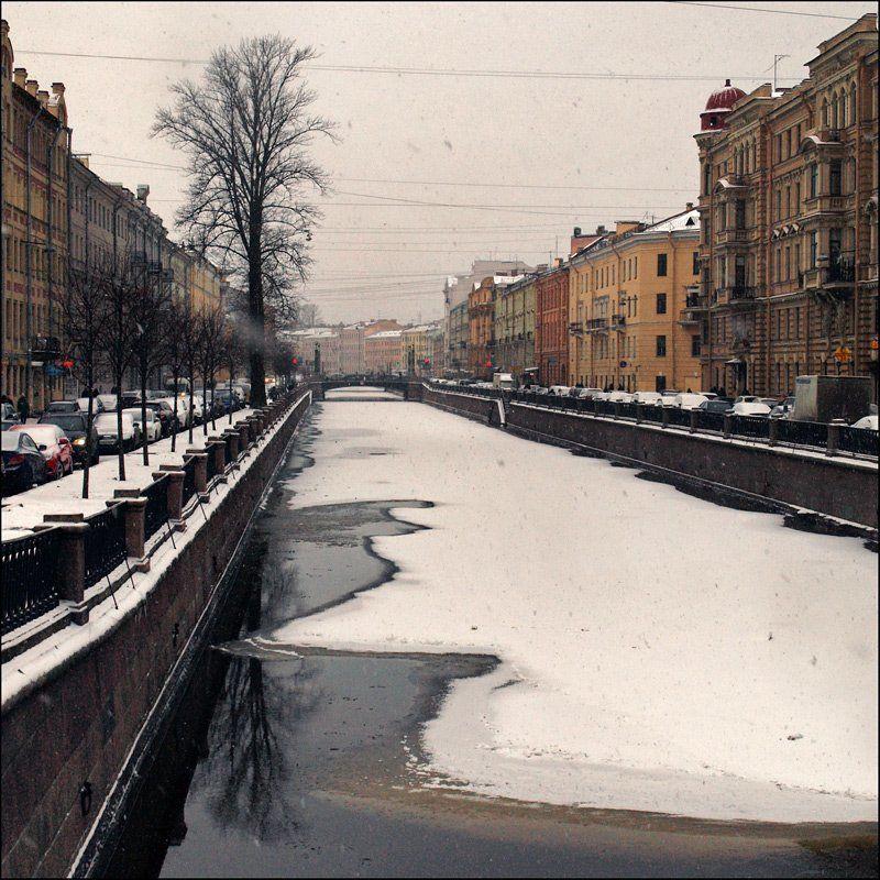 город, Санкт-Петербург, зима, канал Грибоедова Начало зимы на канале Грибоедова (2)photo preview