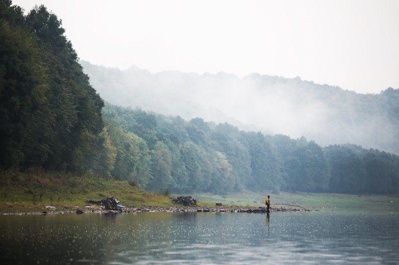 canon, canon70d, landscape, landscapes, man, fisherman, fish, dnestr, river, nature, пейзаж, природа, рыбак, днестр, украина Несмотря на погодуphoto preview