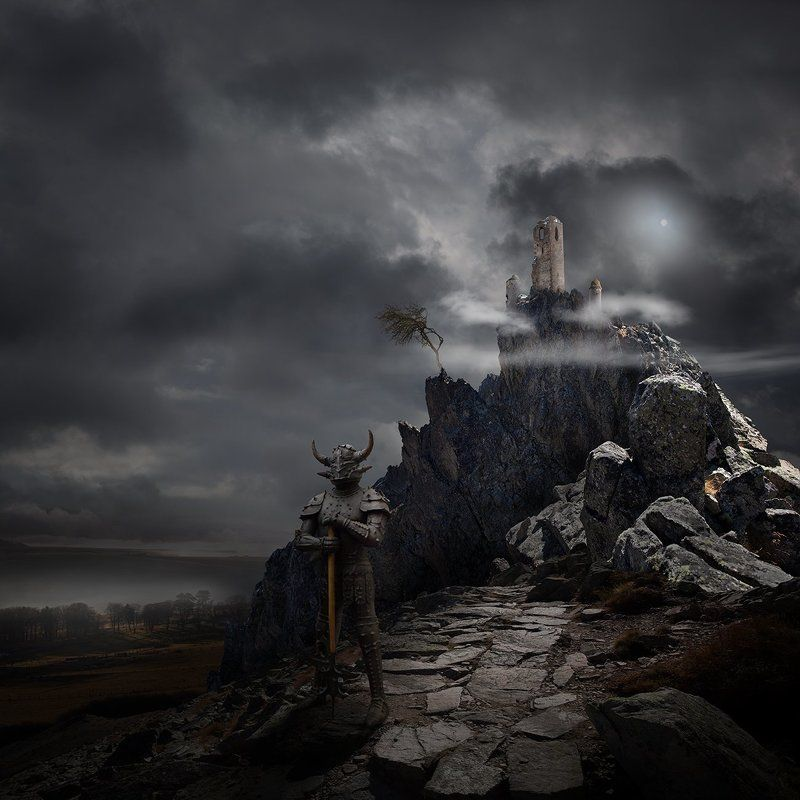 Dark, Landscape, Mood, Story The Path Of The Peacefull Warriorphoto preview