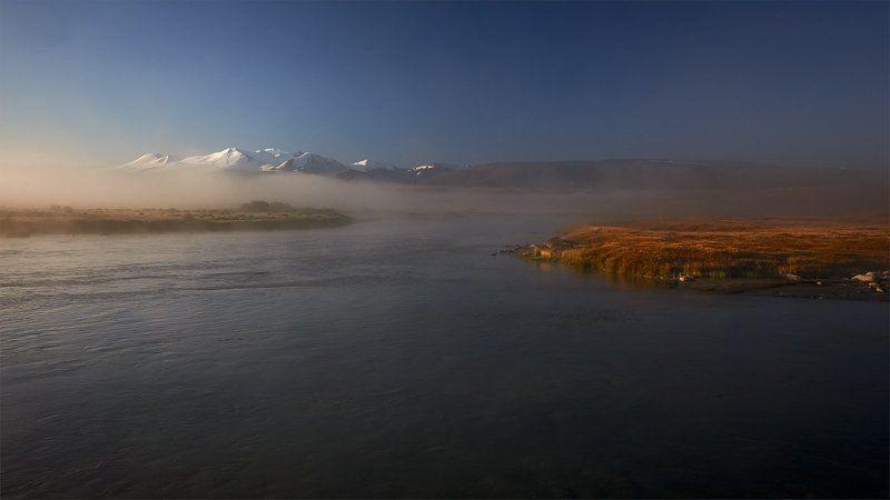 алтай, укок, ак-алаха, табын-богдо-ола, туман, утро Зона покоя Укокphoto preview