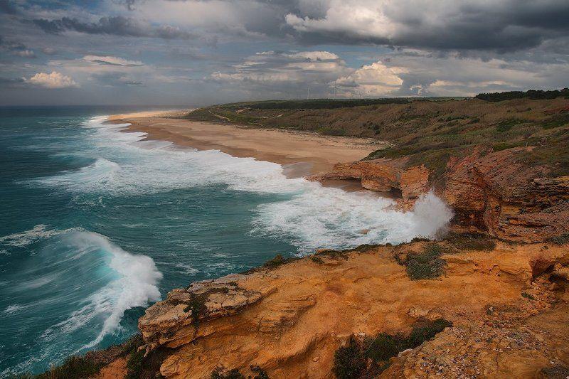 portugal, nazare, atlantic, ocean Nazarephoto preview