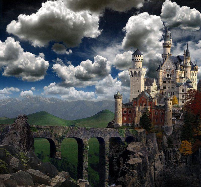 коллаж, замок-снов Castle of Dreamsphoto preview