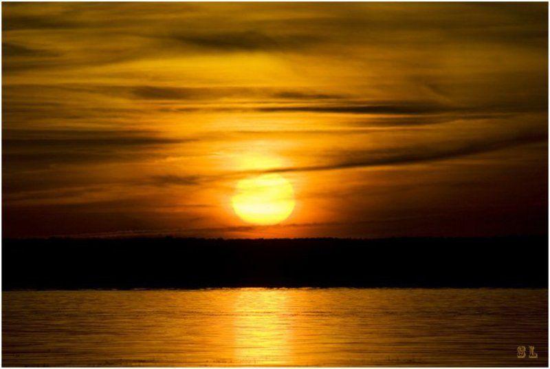 закат Золото осениphoto preview