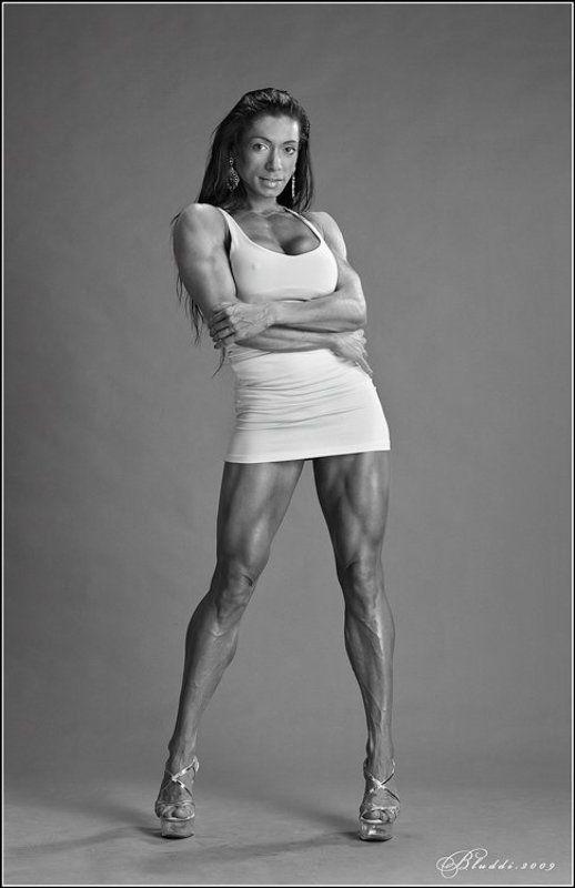studio, sport,bodybuilding,figura. Ira Mayanphoto preview