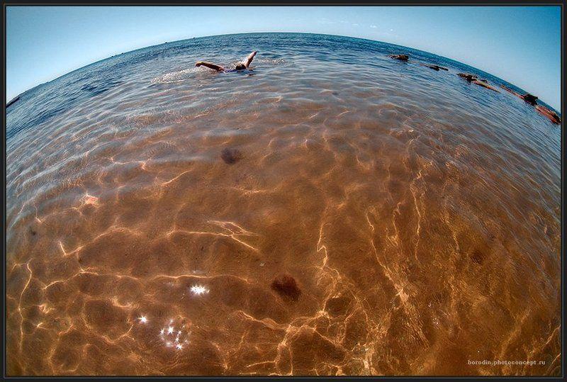 море, пловец Кругосветкаphoto preview