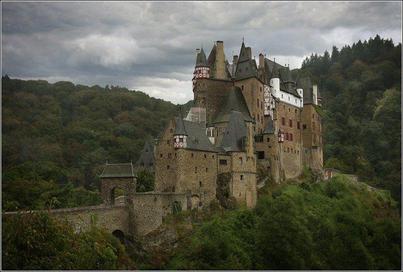 германия, замок, эльтц photo preview