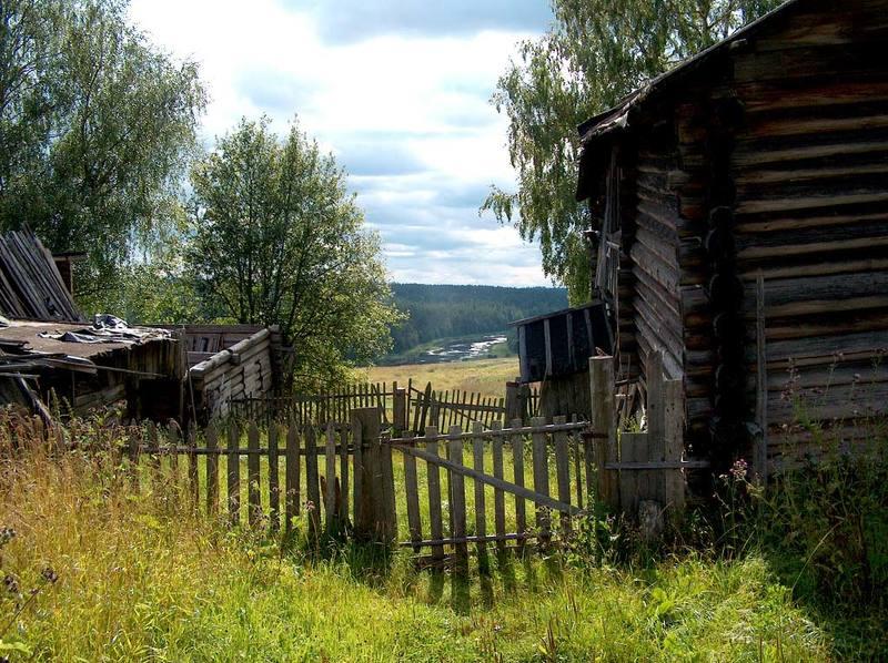 лето, деревня, река, двор, калитка Возвращение в прошлое...photo preview