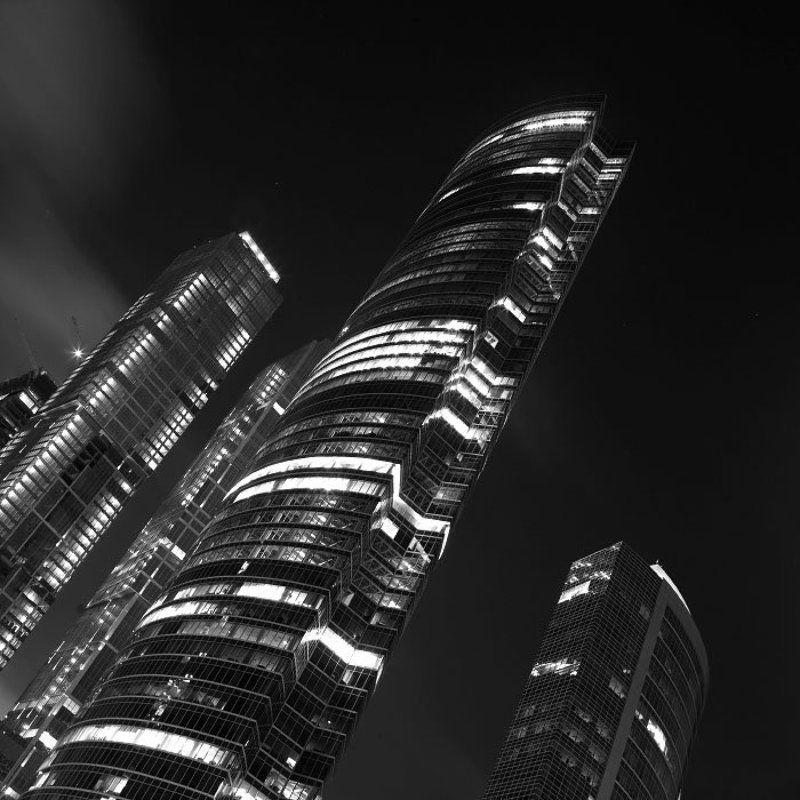 город, ночь, центр, стекло, москва сити moscow_city_nightphoto preview