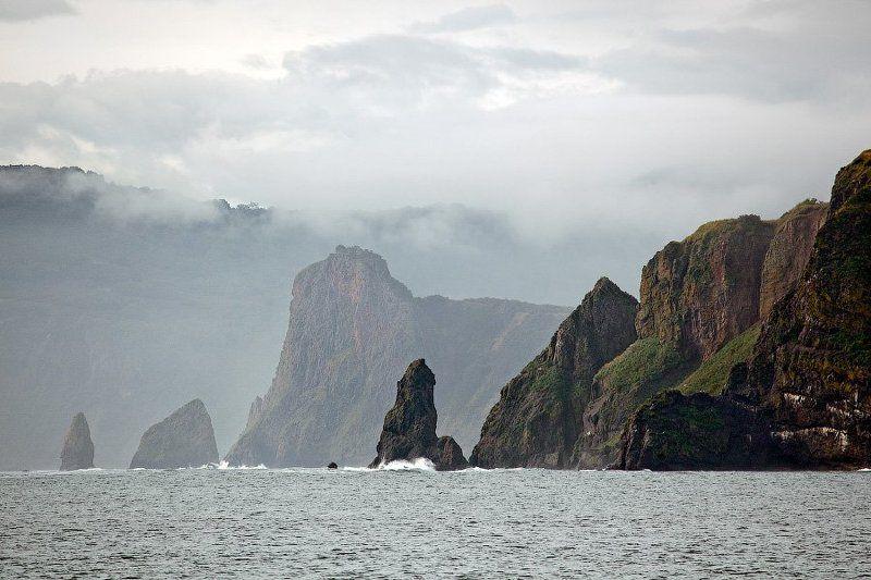камчатка, тихий океан Даль...photo preview