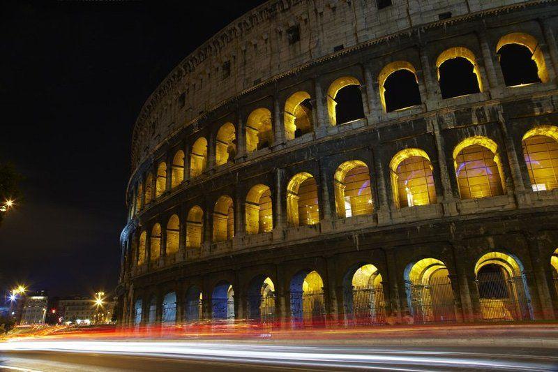 рим, город, ночь, подсветка eternal_city_Romephoto preview