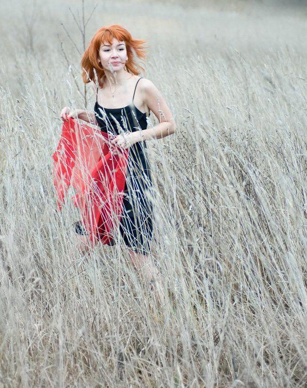 Осень рыжая уходит...photo preview